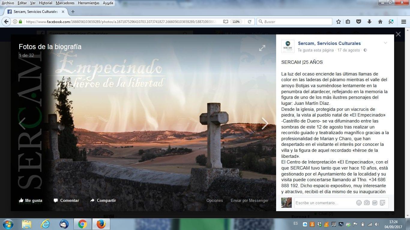 Facebook. Sercam | cultyocio.es