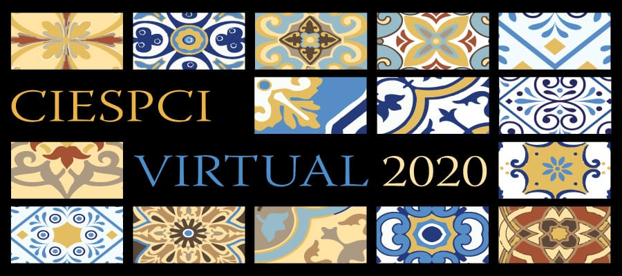 Cartel del congreso CIESPCI virtual 2020