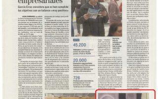"""Diario de Valladolid (30-11-15). """"Boda de El Empecinado"""". Intur 2015-cultyocio"""