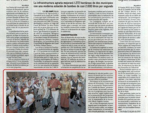 5ª edición de la «Boda de El Empecinado» en la prensa local