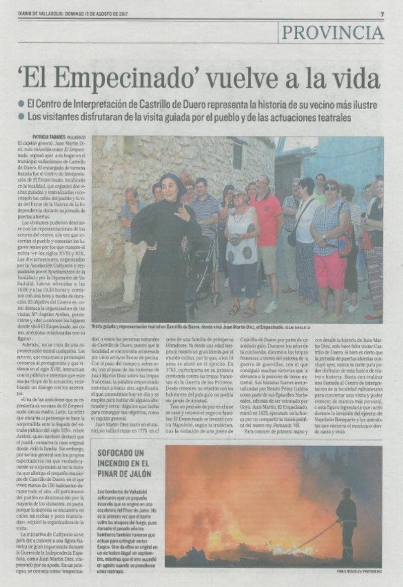 Centro interpretación empecinado-prensa | cultyocio.es