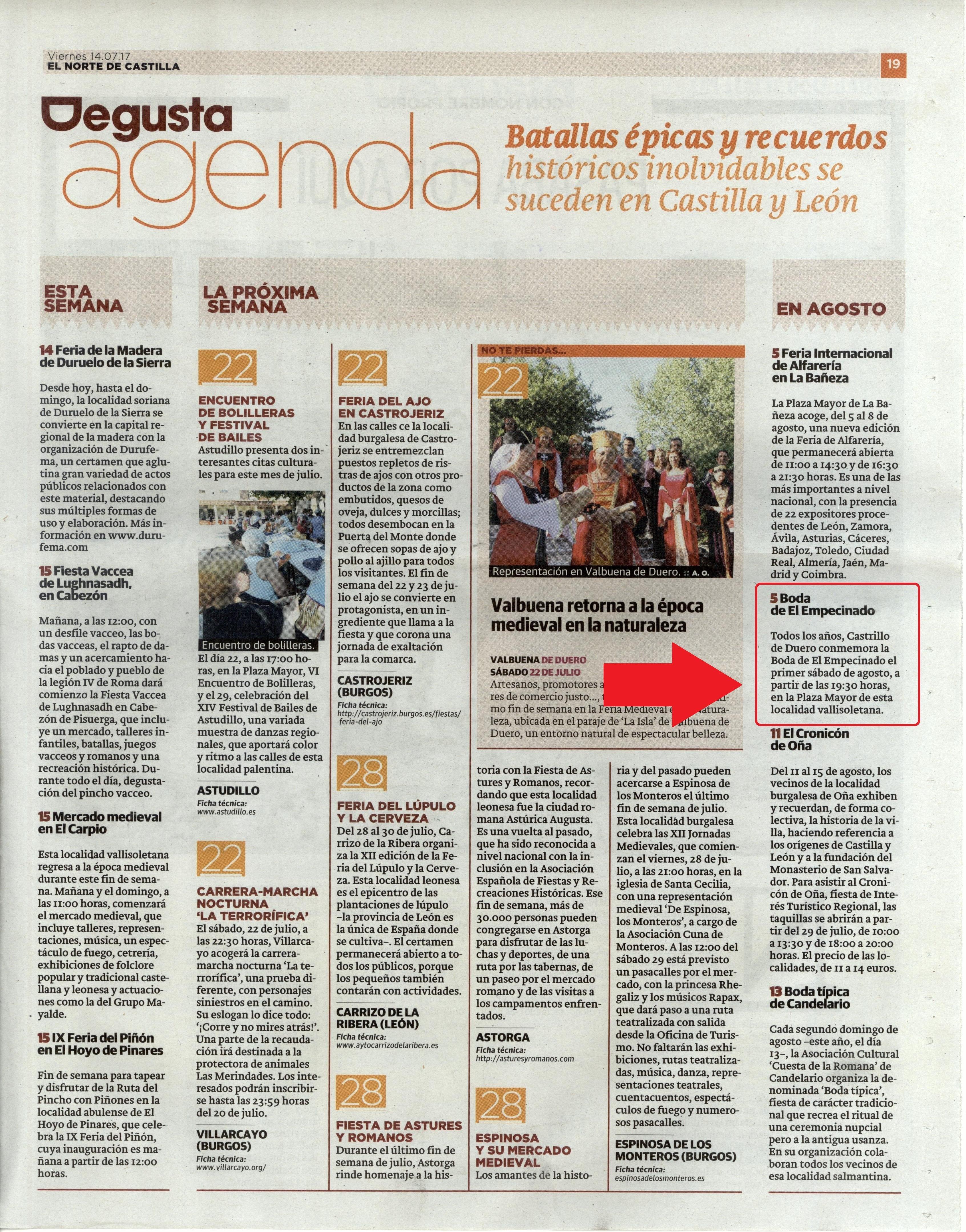 4 boda empecinado 2017-prensa 5 | cultyocio.es