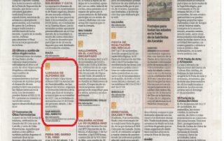La recreación de Alfonso XIII en la agenda semanal de El Norte de Castilla