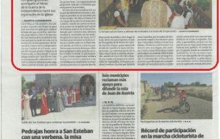 Boda de El Empecinado del 2019 en El Norte de Castilla