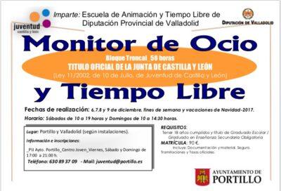 Monitor de Tiempo libre (Portillo) | cultyocio.es