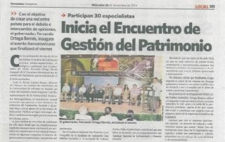 El III Congreso de Gestión del Patrimonio en la prensa de México 003   | cultyocio.es