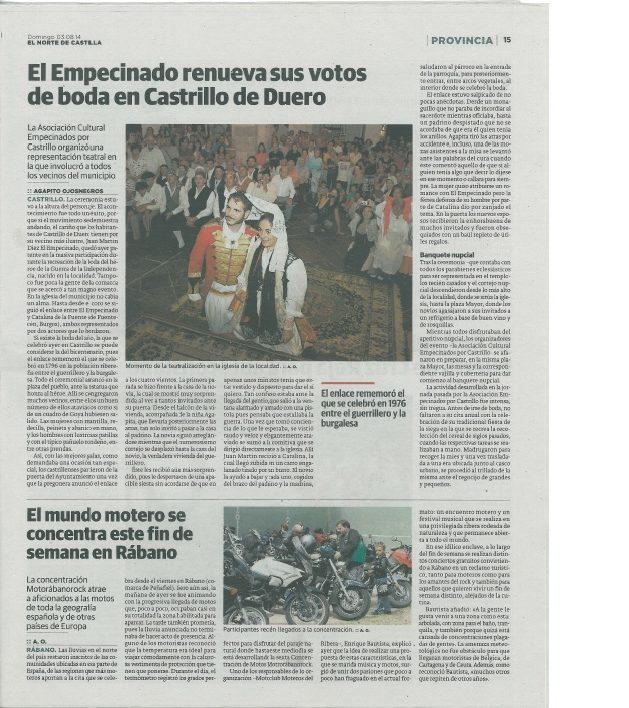 1ª boda empecinado 2014-prensa | cultyocio.es