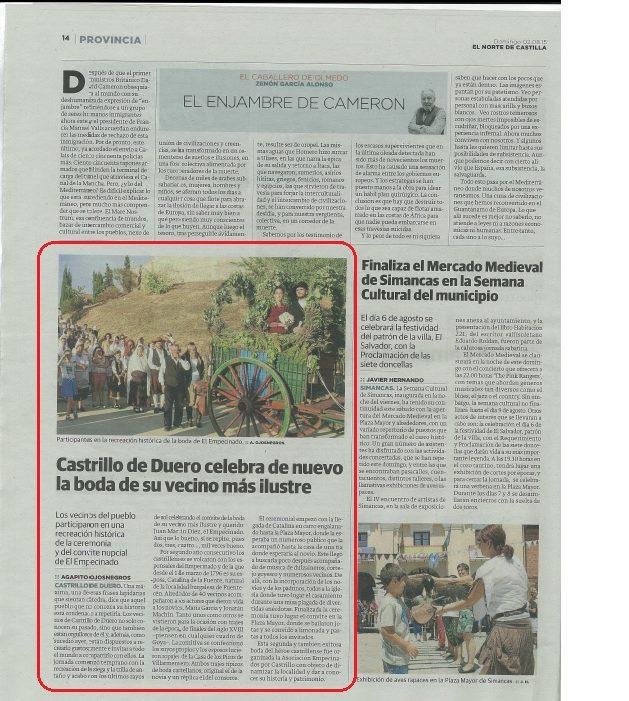 2 boda empecinado-prensa | cultyocio.es